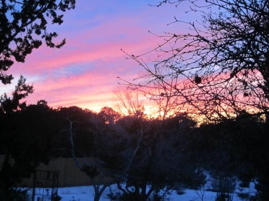 Sunrise in Late September